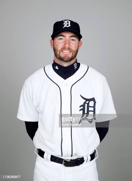 Christopher Smith of the Detroit Tigers poses during Photo Day on Tuesday February 19 2019 at Publix Field at Joker Marchant Stadium in Lakeland...