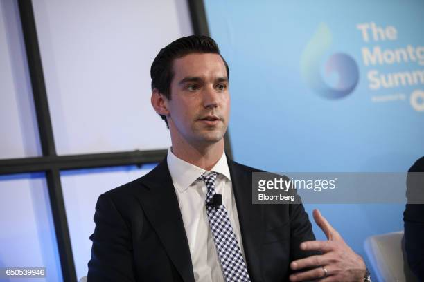 Christopher Smith vice president of corporate development at Inspirato speaks during the Montgomery Summit in Santa Monica California US on Thursday...