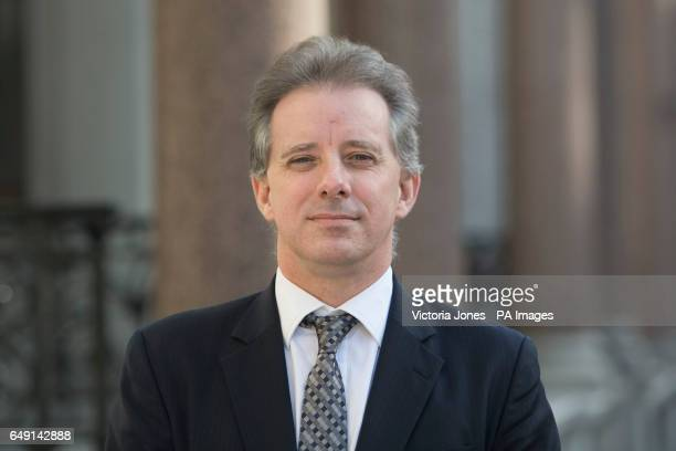 Christopher Steele the former MI6 agent who setup Orbis Business Intelligence and compiled a dossier on Donald Trump in London where he has spoken to...