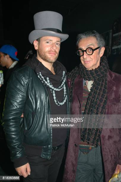 Christopher Stevens and Robert Richards attend Patricia Field Paradise Garage Collection Launch at Good Units at The Hudson Hotel on February 11 2010...
