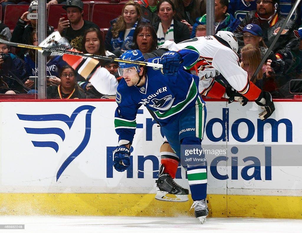 Anaheim Ducks v Vancouver Canucks