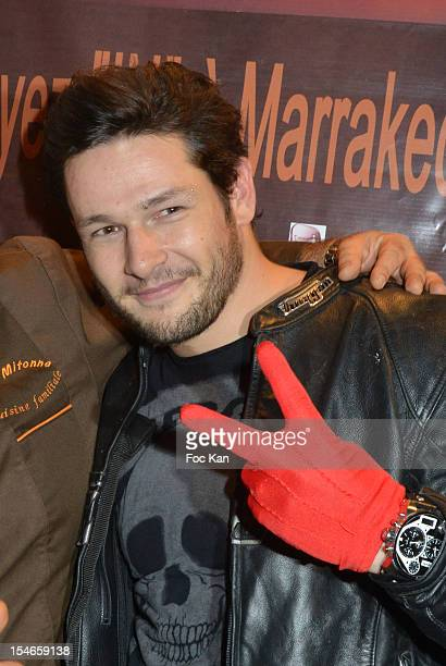 Christopher Tascon from 'Mon Incroyable Fiance' attends the 'Les 10 Ans de Marc Mitonne' Party Hosted by '2 Mains Rouges' at the Marc Mitonne...