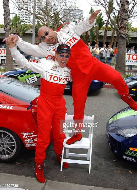 Christopher Titus Bill Goldberg during 26th Annual Long Beach Grand Prix Toyota Pro / Celebrity Race Photo Call at Streets of Long Beach in Long...