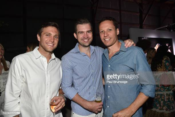 Christopher Trapp Damian Zajac and Adrian Chraplyvy attend finn2finn Alliance First Annual Fundraiser Benefiting ReRun Equine Shelter at Dune Alpin...