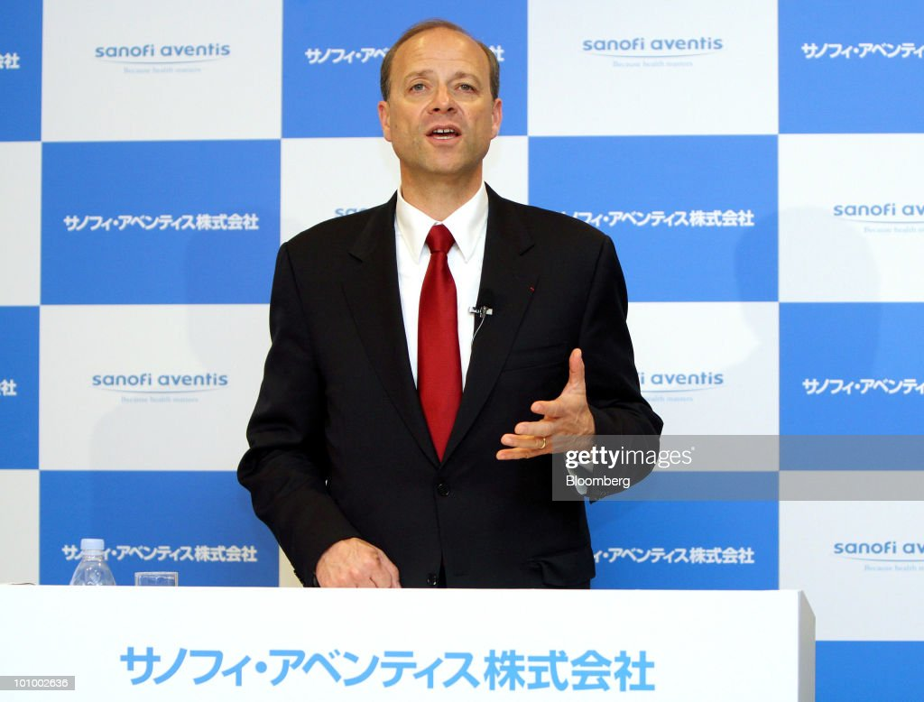 Sanofi-Aventis SA CEO Christopher Viehbacher Holds News Conference