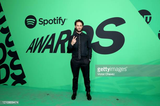 Christopher von Uckermann attends the 2020 Spotify Awards at the Auditorio Nacional on March 05 2020 in Mexico City Mexico
