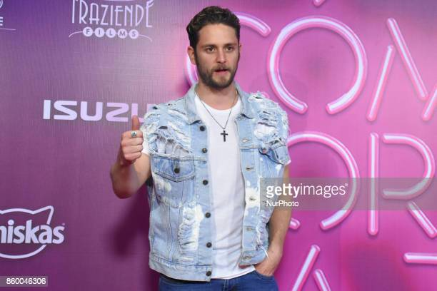 Christopher Von Uckermann is seen attending at red carpet of 'Como Cortar a tu Patan' film premiere on October 10 2017 in Mexico City Mexico