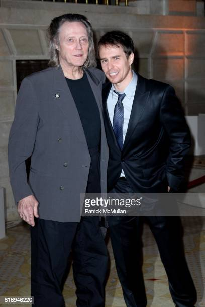Christopher Walken and Sam Rockwell attend THE ALMAY CONCERT to Celebrate the RAINFOREST FUND'S 21st Birthday at The Plaza Hotel on May 13th 2010 in...