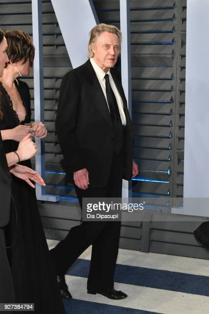 Christopher Walken attends the 2018 Vanity Fair Oscar Party hosted by Radhika Jones at Wallis Annenberg Center for the Performing Arts on March 4...
