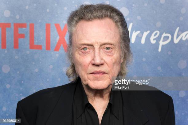 Christopher Walken attends the Irreplaceable You New York screening at Metrograph on February 8 2018 in New York City