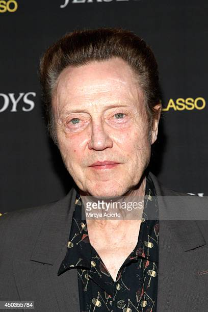 Christopher Walken attends the Jersey Boys Special Screening dinner at Angelo Galasso House on June 9 2014 in New York City