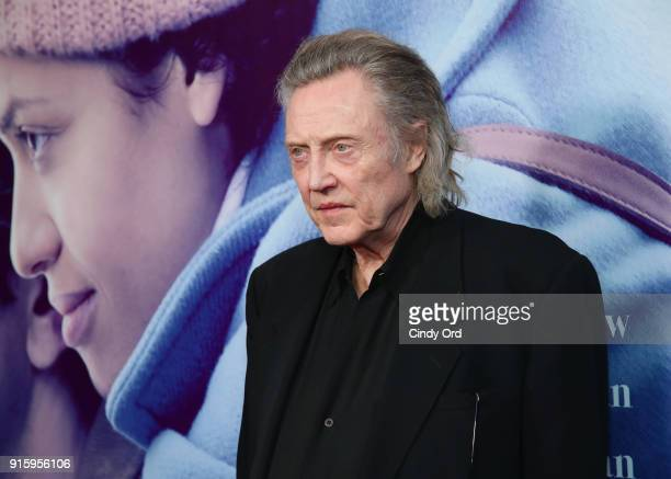 Christopher Walken attends the Special Screening of the Netflix Film Irreplaceable You at The Metrograph on February 8 2018 in New York City
