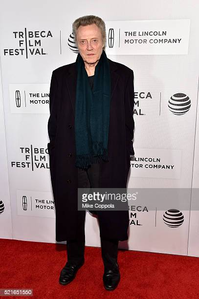 Christopher Walken attends the 'The Family Fang' Premiere 2016 Tribeca Film Festival at BMCC John Zuccotti Theater on April 16 2016 in New York City