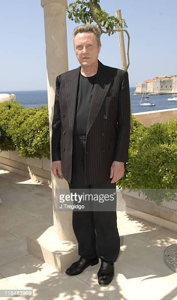 Christopher Walken during 2005 Dubrovnik International Film Festival Christopher Walken Tribute Press Conference at Excelsior Hotel in Dubrovnik...