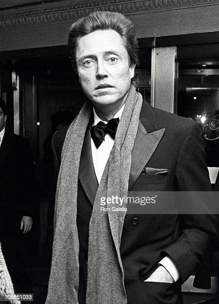 Christopher Walken during 'Awakenings' New York City Screening and Party at Pierre Hotel in New York City New York United States