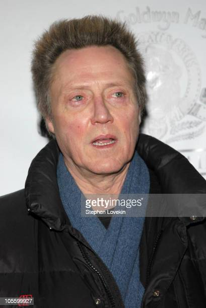 """Christopher Walken during """"Raging Bull"""" 25th Anniversary and Collector's Edition DVD Release Celebration at Ziegfeld Theatre in New York City, New..."""