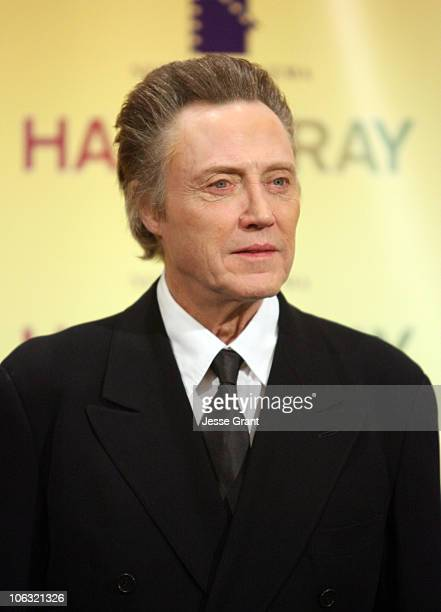 Christopher Walken during ShoWest 2007 New Line 'Hairspray' Presentation Photocall at Paris Hotel and Casino in Las Vegas Nevada United States