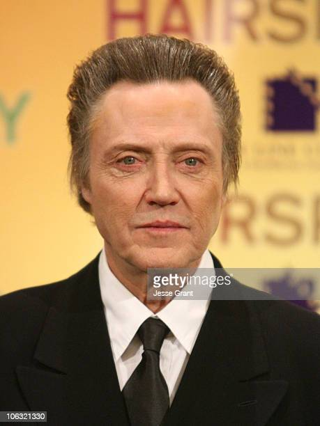 Christopher Walken during ShoWest 2007 New Line Hairspray Presentation Photocall at Paris Hotel and Casino in Las Vegas Nevada United States