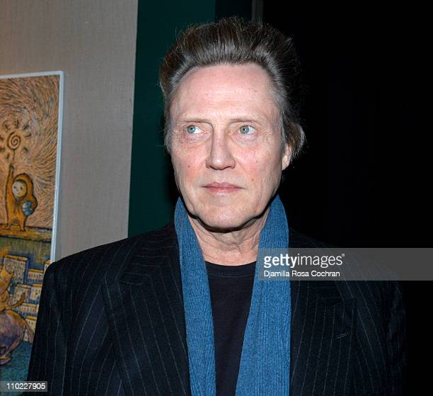 Christopher Walken during The Film Society of Lincoln Center's Walter Reade Theater Presents Inventing Christopher Walken at Walter Reade Theater in...