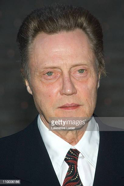 Christopher Walken during Vanity Fair Hosts The Sixth Annual Tribeca Film Festival Opening Night Party April 24 2007 at New York State Supreme Court...