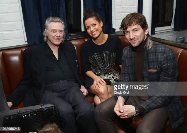 Christopher Walken Gugu MbathaRaw and Michiel Huisman attend the Special Screening of the Netflix Film Irreplaceable You at The Metrograph on...