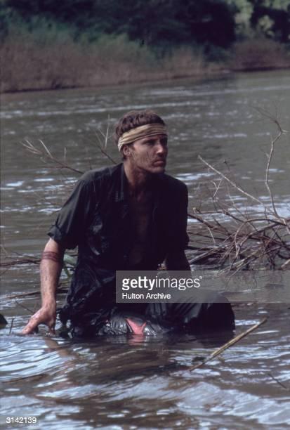 Christopher Walken stars in the Vietnam War film 'The Deer Hunter' directed by Michael Cimino