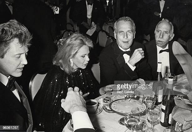 Christopher Walken Sue Mengers Paul Newman and David Brown