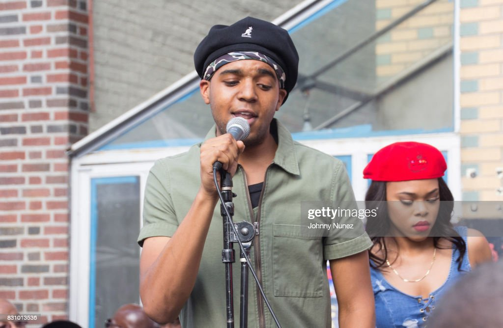 Christopher Wallace Jr. performs at the 4th Annual Source 360 on August 12, 2017 in the Brooklyn borough of New York City.