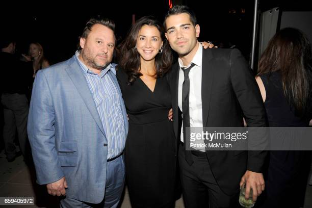 Christopher Williams Nancy DeMaio and Jesse Metcalfe attend THE CINEMA SOCIETY THE NEW YORKER host the after party for BEYOND A REASONABLE DOUBT at...