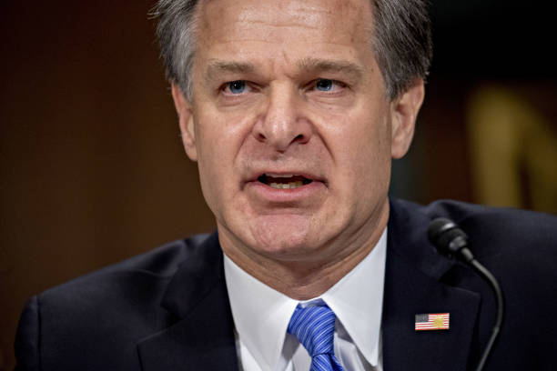 DC: FBI Director Christopher Wray Testifies Before Senate Judiciary Committee
