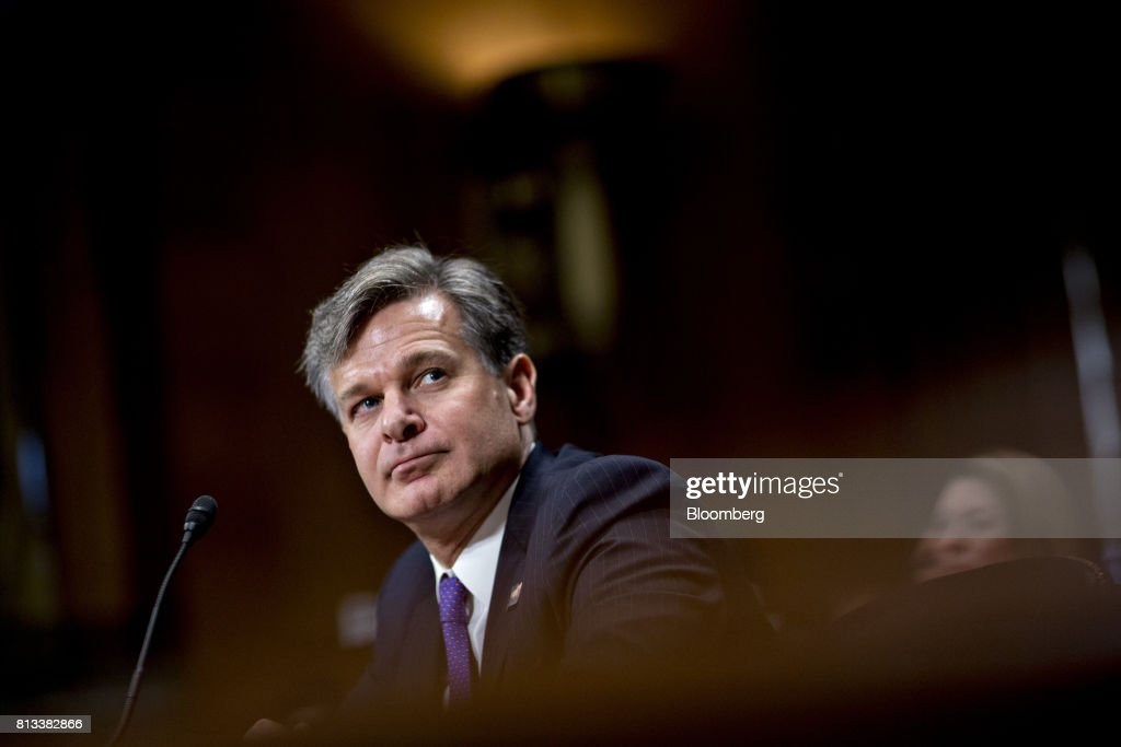 Senate Judiciary Committee Holds Hearing For FBI Director Nominee Christopher Wray