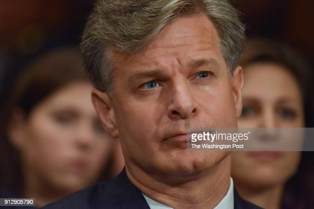 Christopher Wray faces a confirmation hearing before the Senate Judiciary Committee on his nomination to become the FBIs eighth director at the...