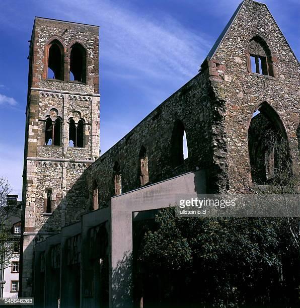 Christophskirche Als Mahnmal erhalten ist die 1945 zerstörte frühgotische St Christophskirche In der Kirche soll Johannes Gutenberg getauft worden...