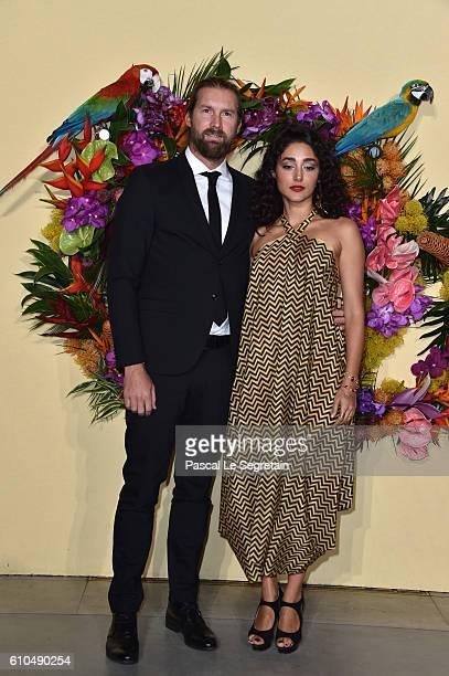 Christos Dorje Walker and Golshifteh Farahani attends the Opening Season Gala at Opera Garnier on September 24 2016 in Paris France