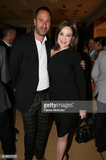 Christos Garkinos and Becca Cason Thrash attend JOHN HARDY Launch of ANGELA LINDVALL and GUY BEDARIDA's Collaboration at Saks Fifth Avenue on May 5th...