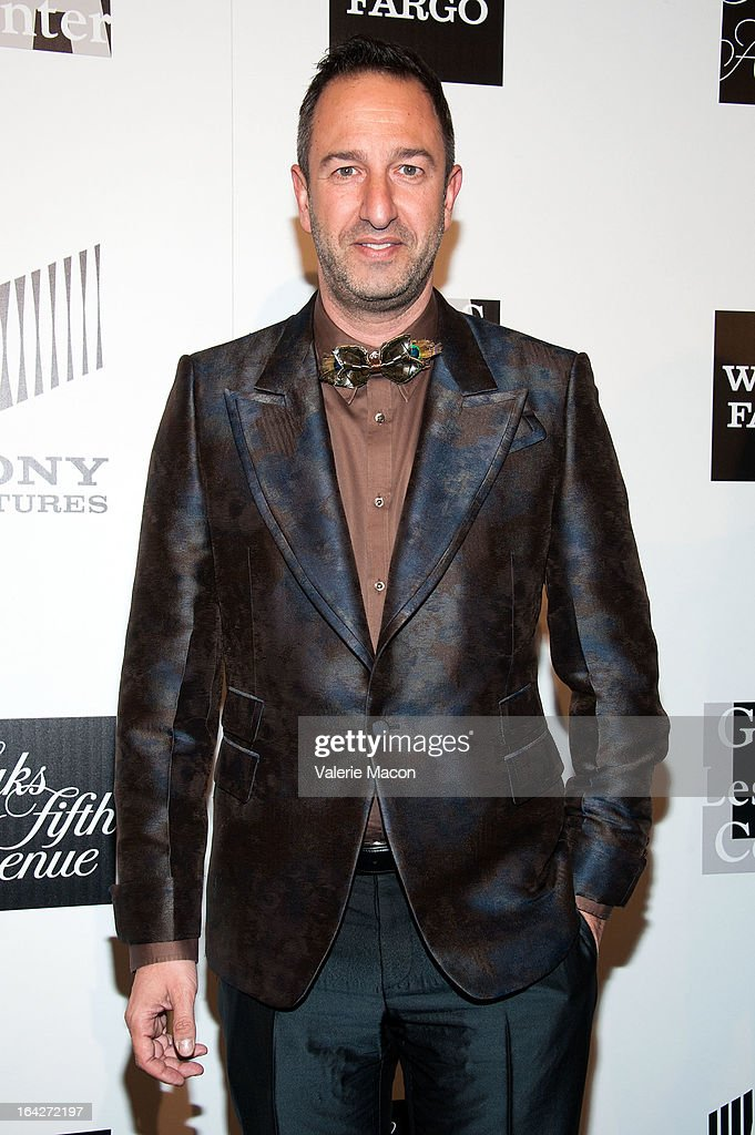 Christos Garkinos arrives at 'An Evening' Benefiting The L.A. Gay & Lesbian Center at the Beverly Wilshire Four Seasons Hotel on March 21, 2013 in Beverly Hills, California.