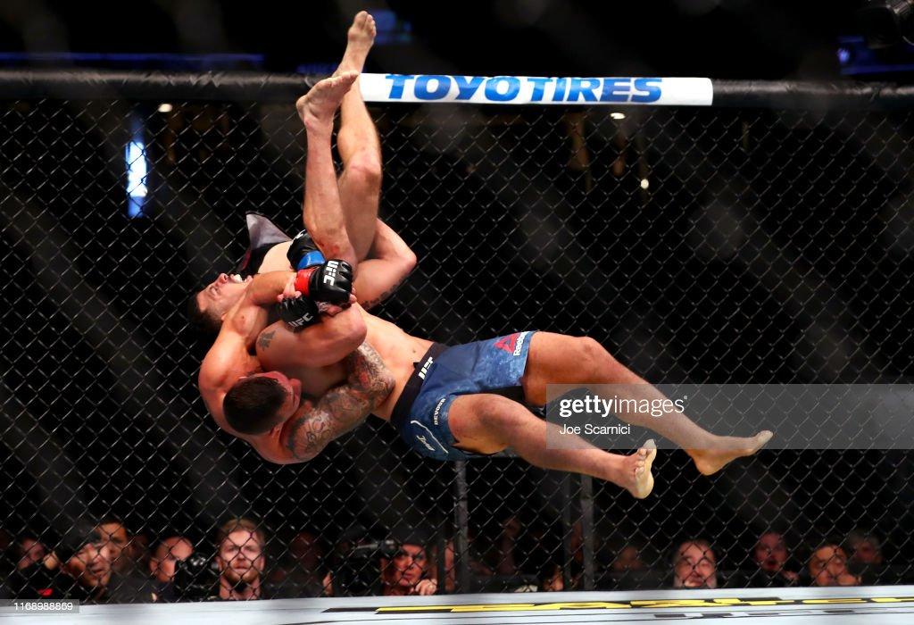 UFC 241 Cormier v Miocic 2 : ニュース写真