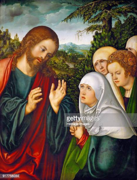 Christ's farewell to the holy women Found in the Collection of Art History Museum Vienne
