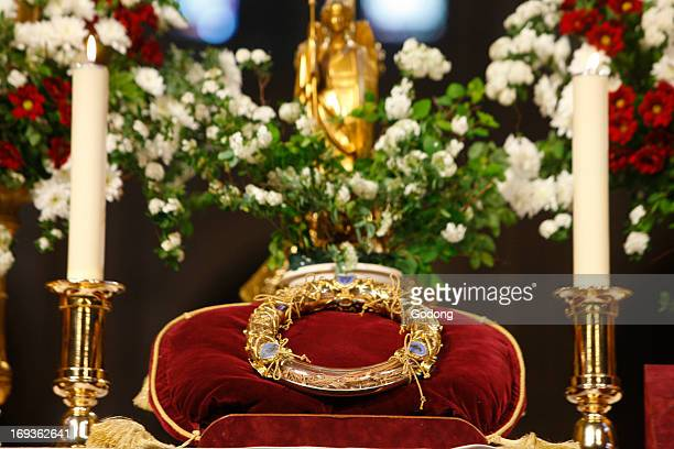Christ's Passion relics at Notre Dame cathedral The Crown of Thorns