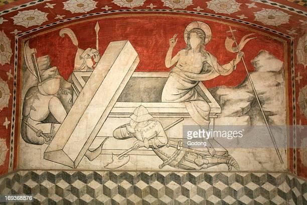 Christ's resurrection Abbey Saint Antoine