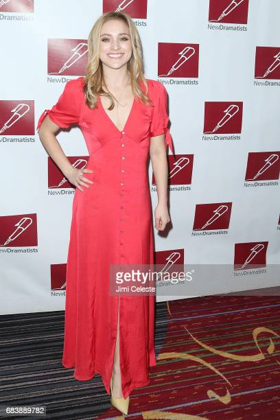 Christy Altomare attend the New Dramatists 68th Annual Spring Luncheon at New York Marriott Marquis Hotel on May 16 2017 in New York City