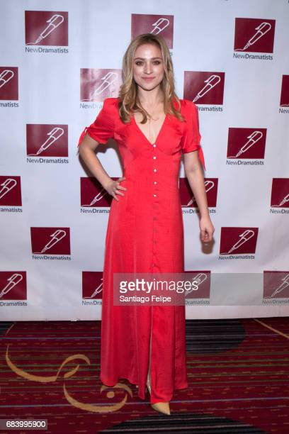 Christy Altomare attends the 68th Annual New Dramatists Spring Luncheon at New York Marriott Marquis Hotel on May 16 2017 in New York City
