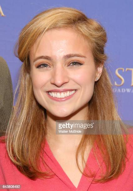 Christy Altomare attends the ''Anastasia' Cast Photo Call at the New 42nd Street Studios on February 22 2017 in New York City