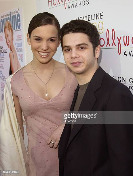 Christy Carlson Romano and Samm Levine during Movieline's 4th Annual Young Hollywood Awards - Arrivals at The Highlands in Hollywood, California,...
