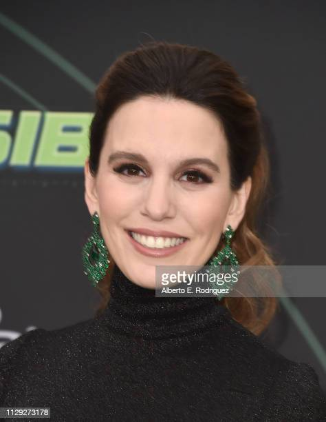 Christy Carlson Romano attends the premiere of Disney Channel's Kim Possible at The Television Academy on February 12 2019 in Los Angeles California