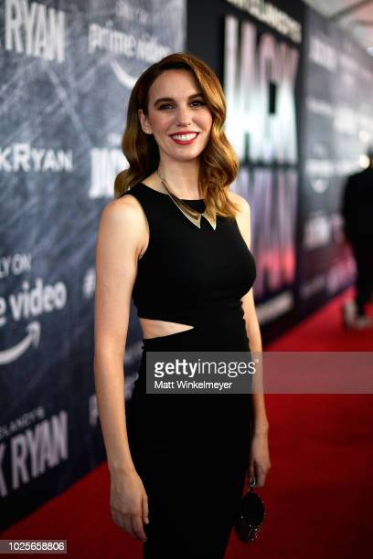 Christy Carlson Romano attends the premiere of Tom Clancy's Jack Ryan at The Opening Night of Los Angeles Fleet Week 2018 at Battleship Iowa on...
