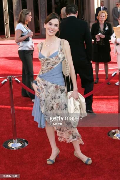 Christy Carlson Romano during 32nd Annual American Music Awards Arrivals at Shrine Auditorium in Los Angeles California United States