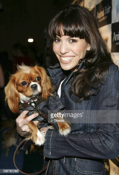 Christy Carlson Romano during 7th Annual Paws for Style Celebrity Pet Fashion Benefiting Animal Medical Center at The Avalon Theater in Los Angeles...