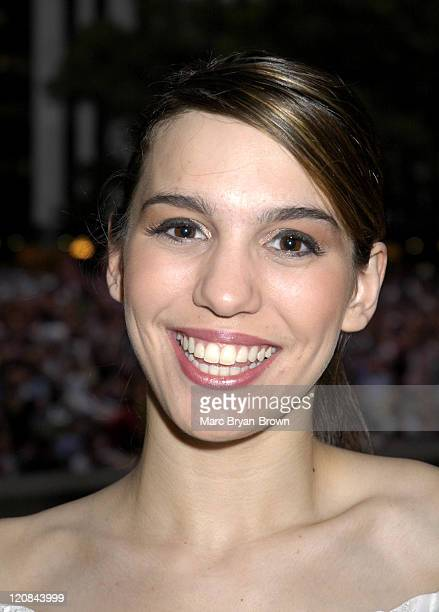 Christy Carlson Romano during Broadway Under The Stars at Bryant Park New York in New York NY United States