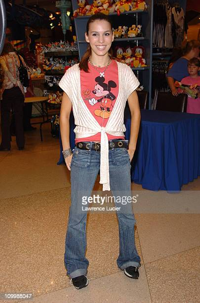 Christy Carlson Romano during Christy Carlson Romano Concludes the Celebrate Mickey: 75 InspEARations Tour of Celebrity-Designed Mickey Mouse Statues...